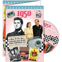 1950 Greetings Card & DVD